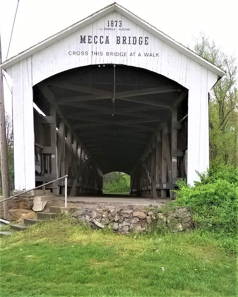 Photo of Mecca Bridge: Mecca, IN
