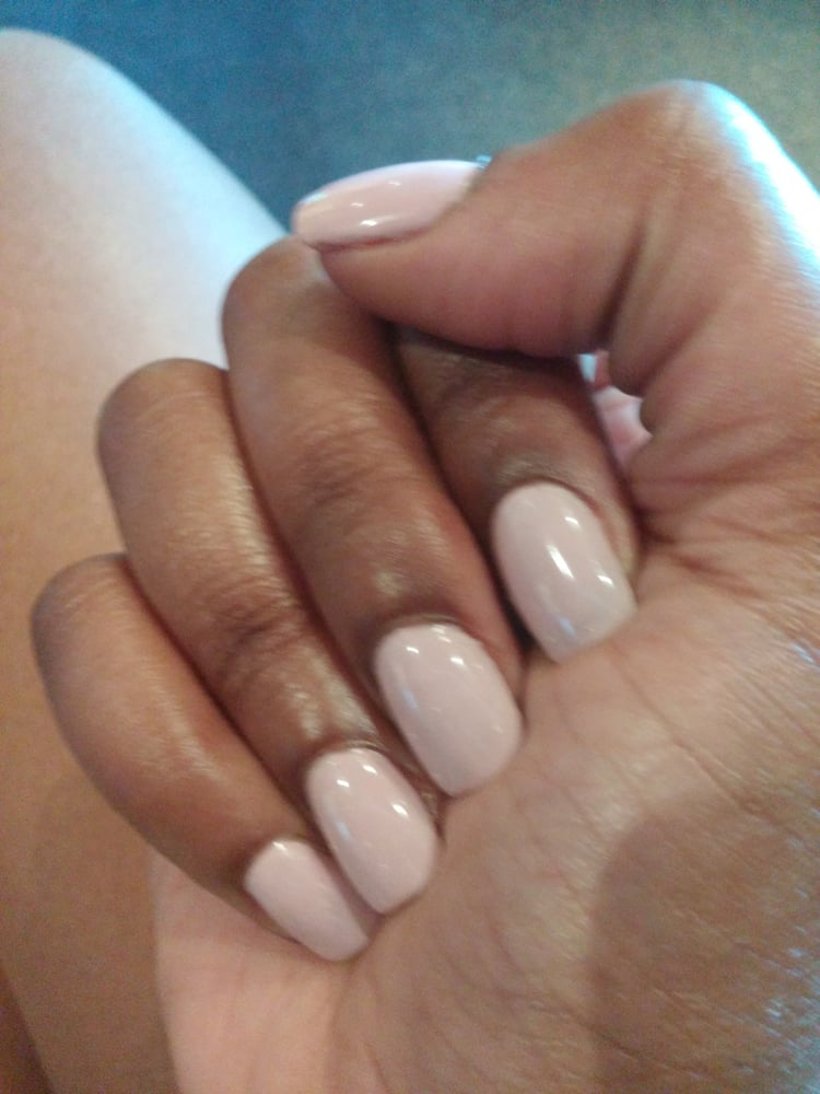 Photo Of Lyly Nails Bays Glendale Wi United States Shellac Manicure With