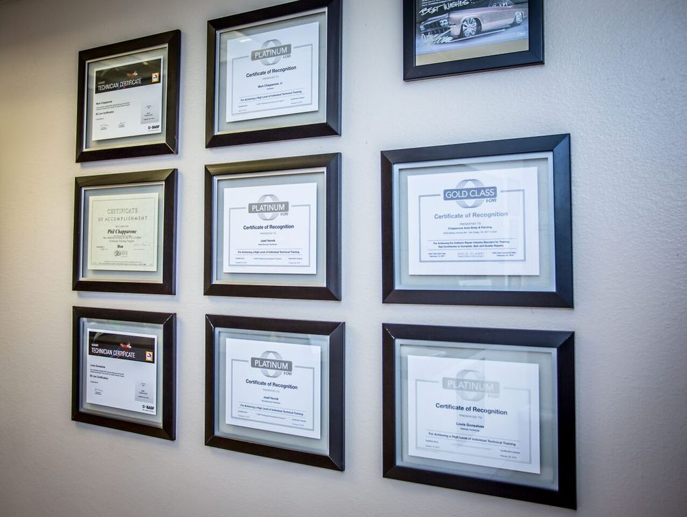 All Of Our Estimators Body Techs Are I Car Certified In Addition