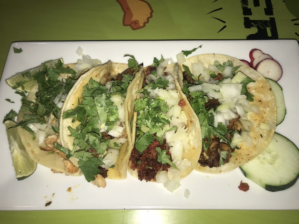Food from Benji's Taqueria Mexican Grill Caldwell