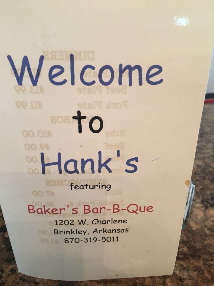 Baker's Bar-B-Que: 204 South Main, Brinkley, AR