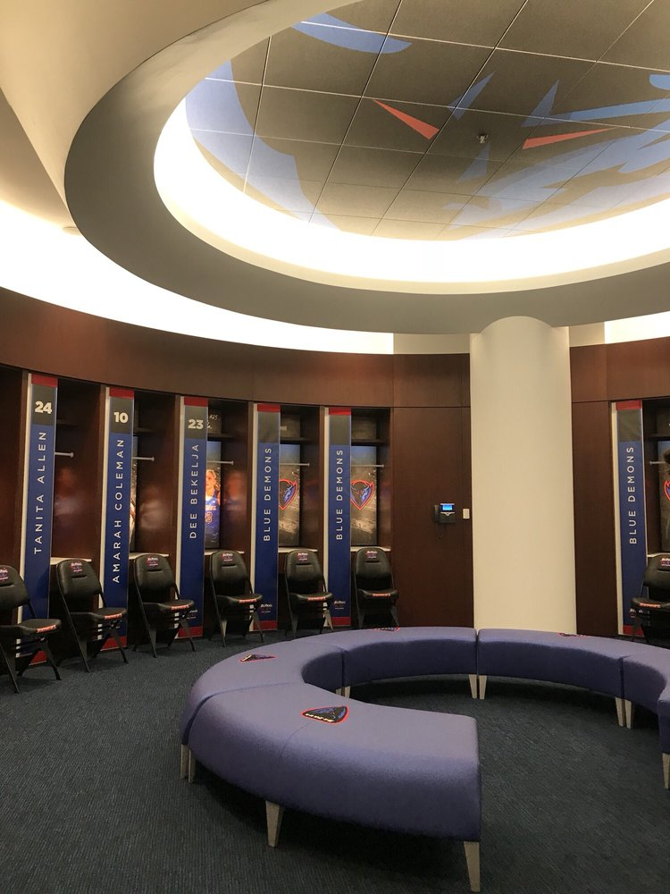 Exterior: DEPaul Locker Room