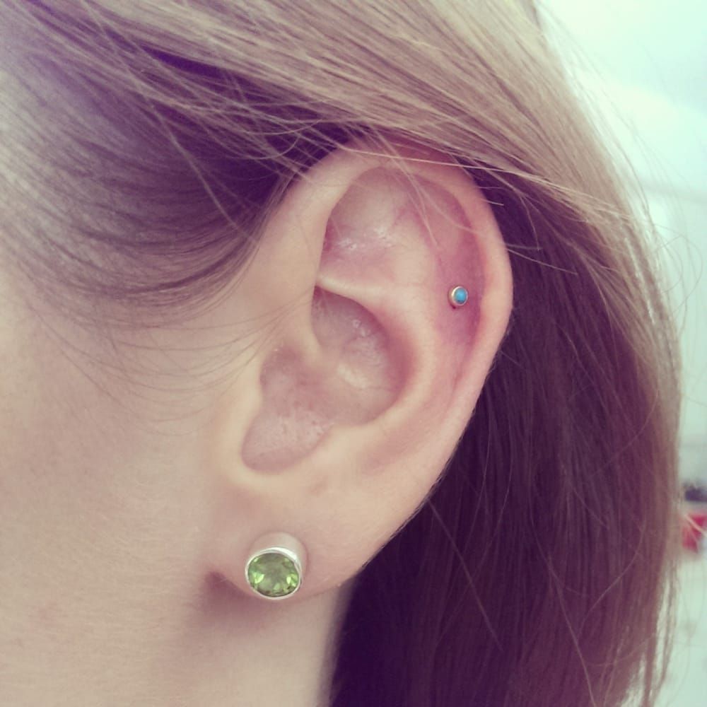 Cartilage piercing by james yelp for Body electric tattoo piercing los angeles ca