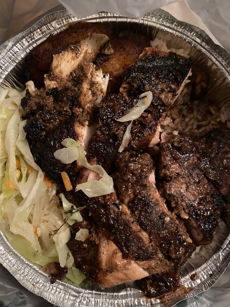 Food from Just Jerk