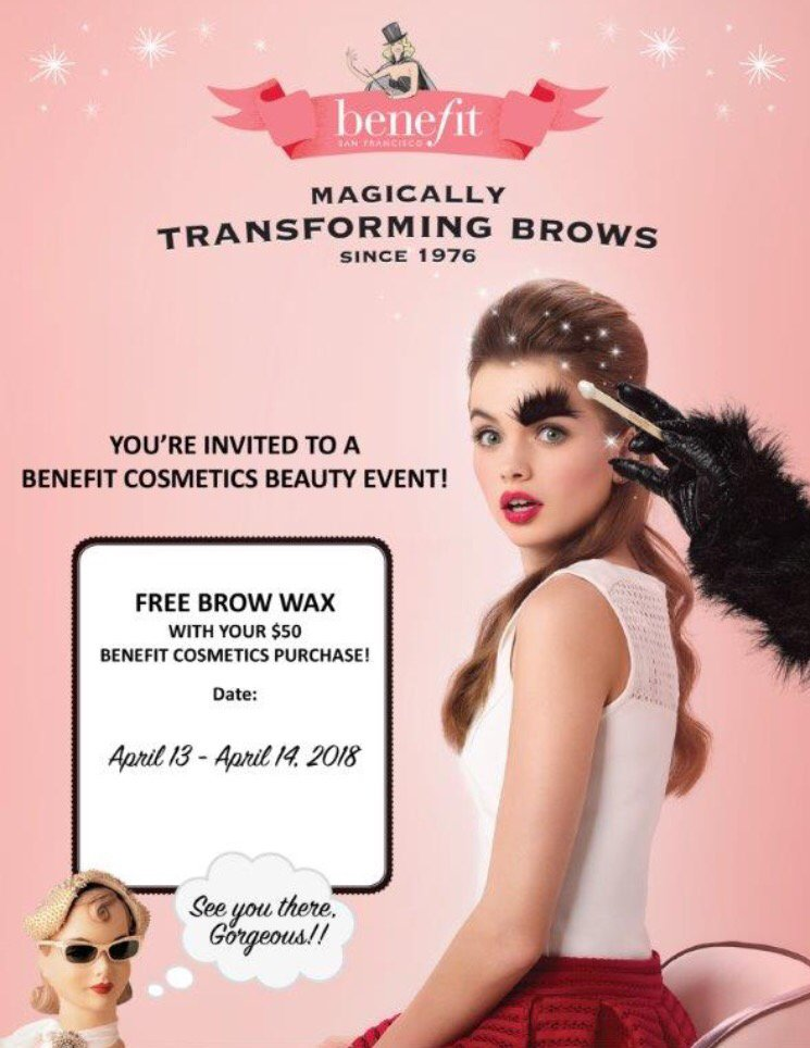 Benefit BrowBar at Macy's