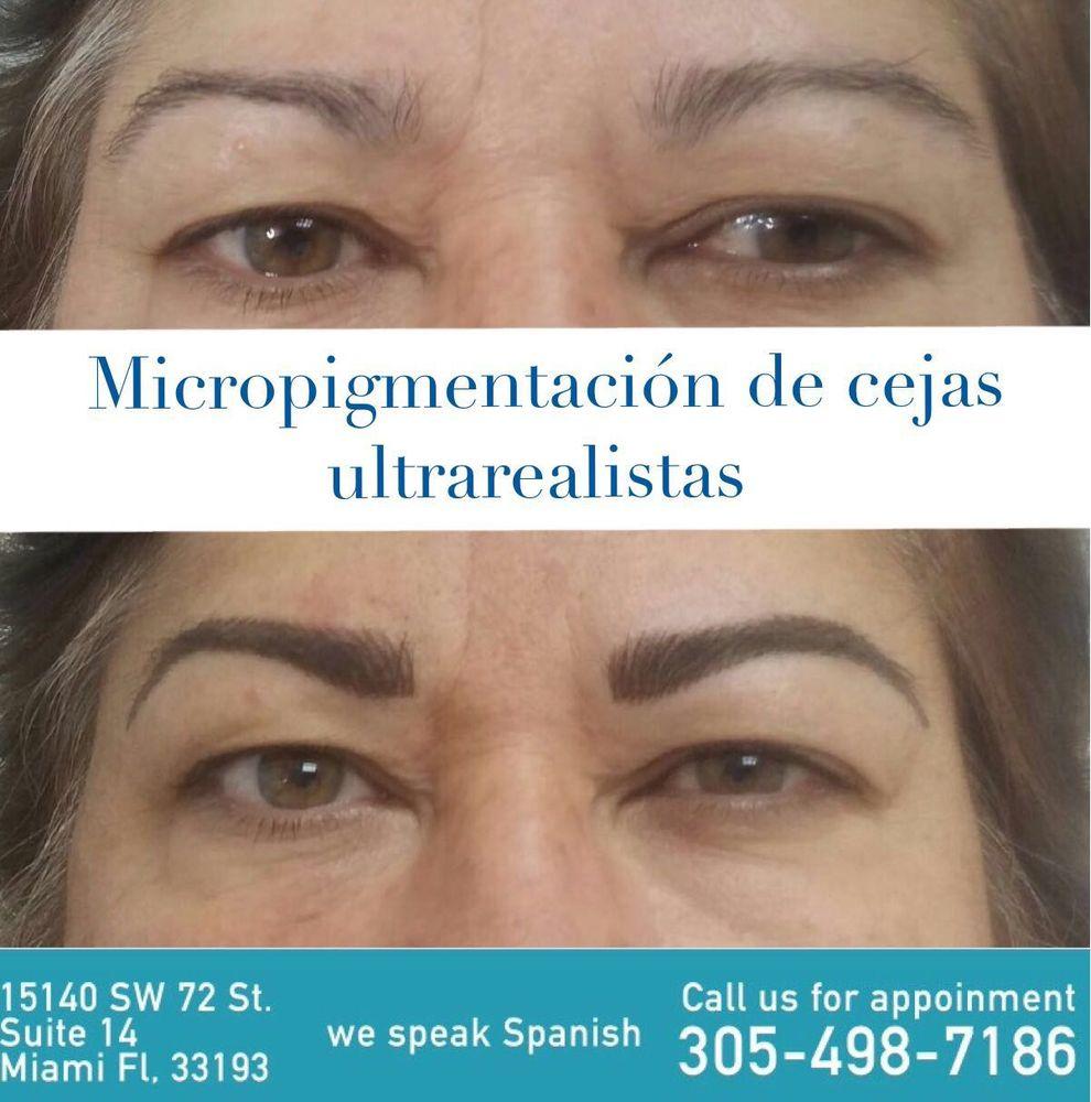 Las cejas son el marco de la cara, aquí el antes y después de unas ...
