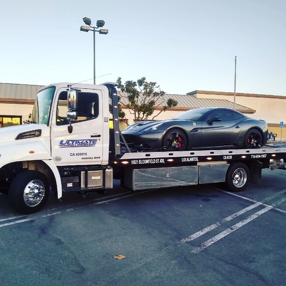 Towing business in Rossmoor, CA