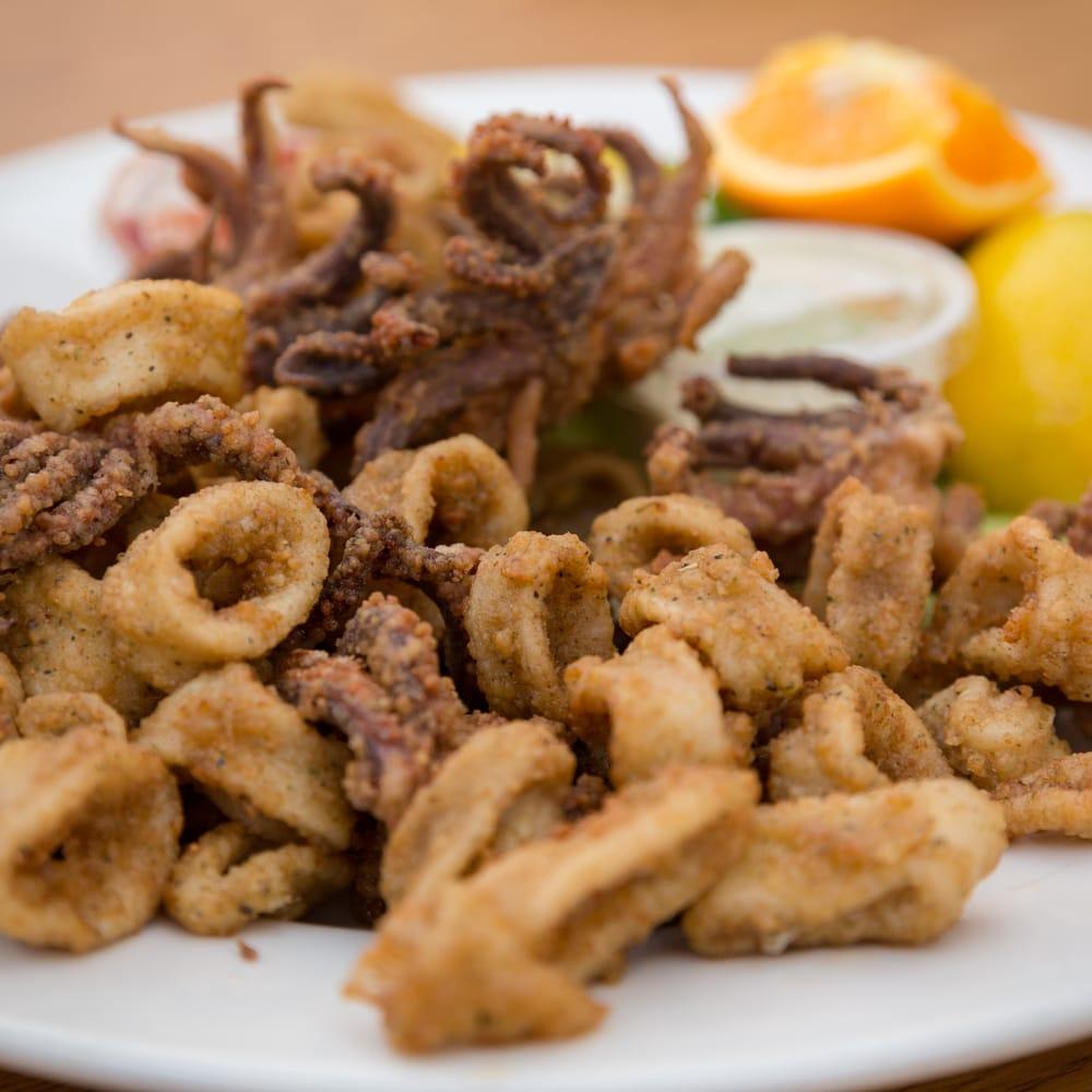 Calamari yelp for Phil s fish market