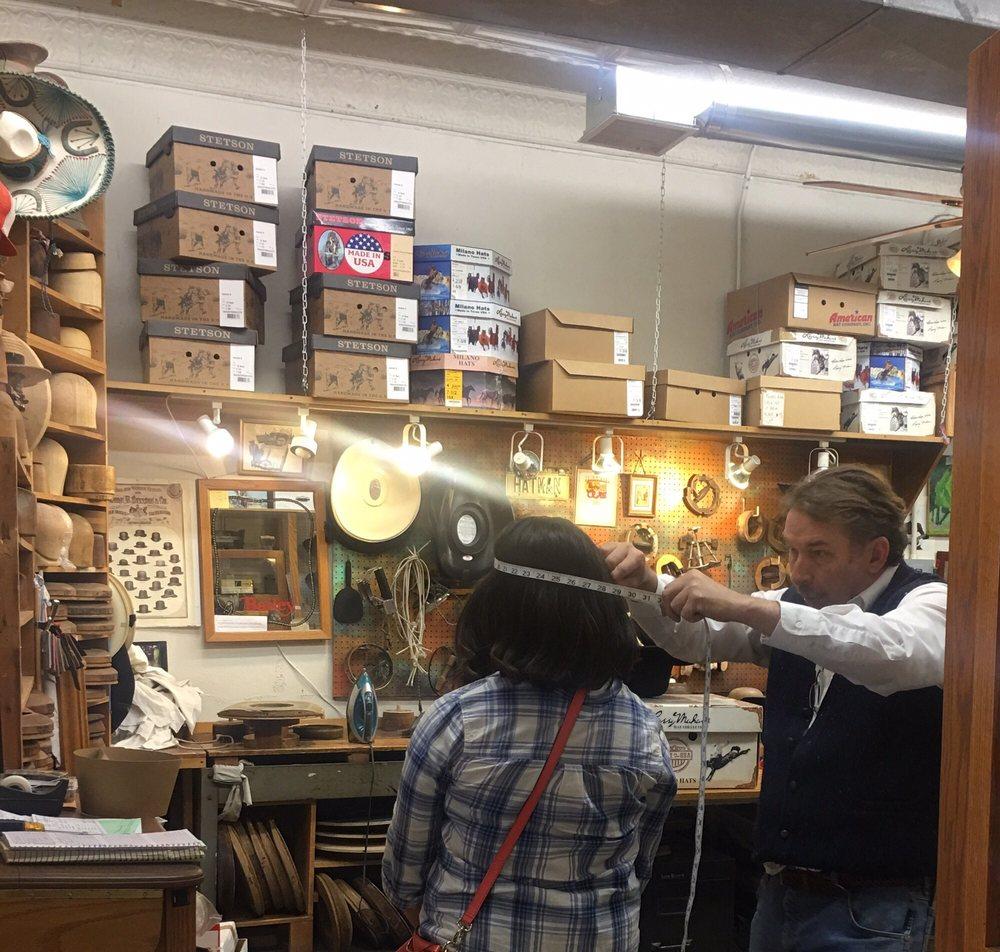Hatman Jack's Wichita Hat Works: 601 W Douglas Ave, Wichita, KS