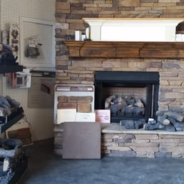 Photo Of Shaw Building Supply   Mount Olive, AL, United States. Prefab  Fireplaces. Prefab Fireplaces Are Displayed In Our Door And Window Warehouse .