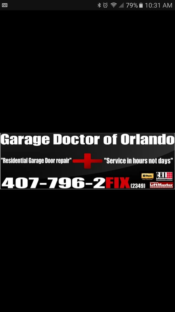 Garage Doctor Of Orlando: 7109 Yacht Basin Ave, Orlando, FL
