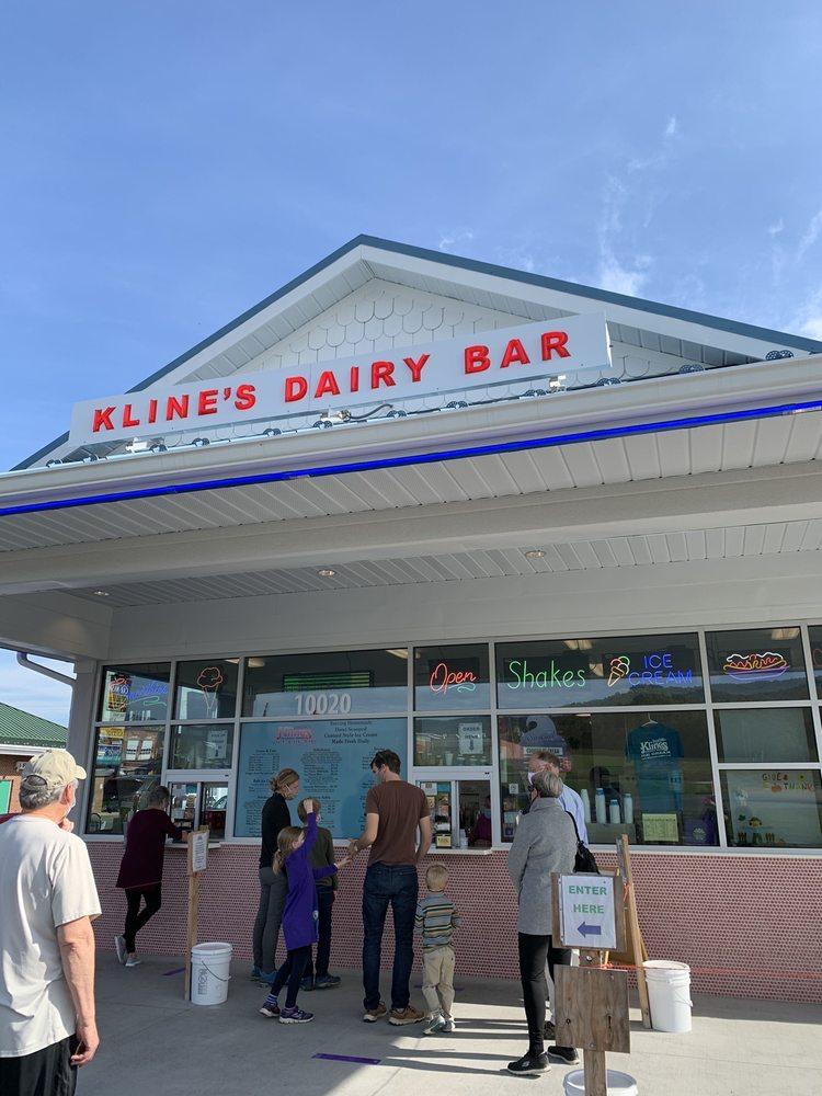 Kline's Dairy Bar: 10020 Spotswood Trl, McGaheysville, VA