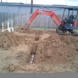 Photo Of Mj Plumbing Pasadena Tx United States Installing Ground
