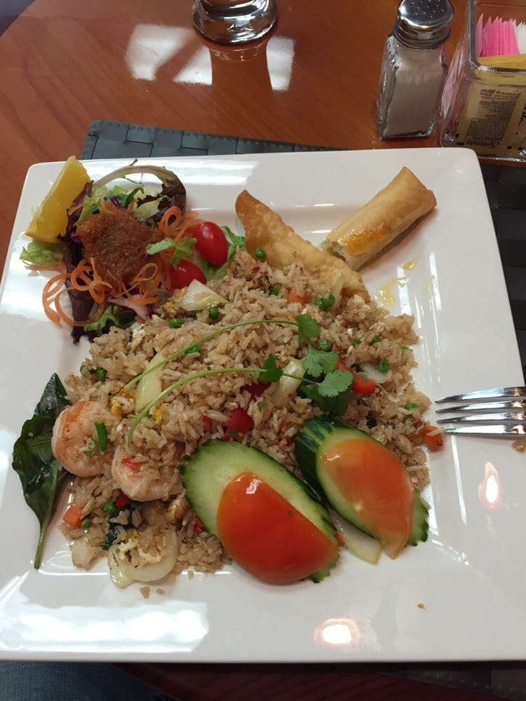 Spicy fried rice yelp for Aiyara thai cuisine