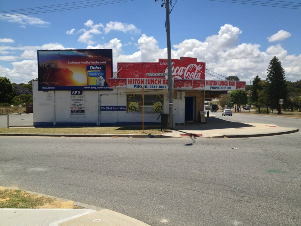 Hilton lunch bar fast food 38 stockdale rd o 39 connor for Food at bar 38