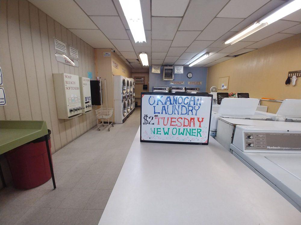 Okanogan Dry Cleaners & Laundromat: 105 Pine St, Okanogan, WA