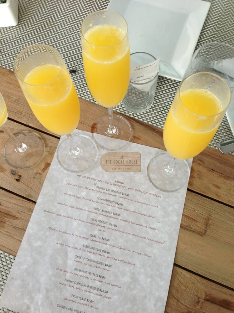 Brunch Miami Beach Unlimited Mimosas