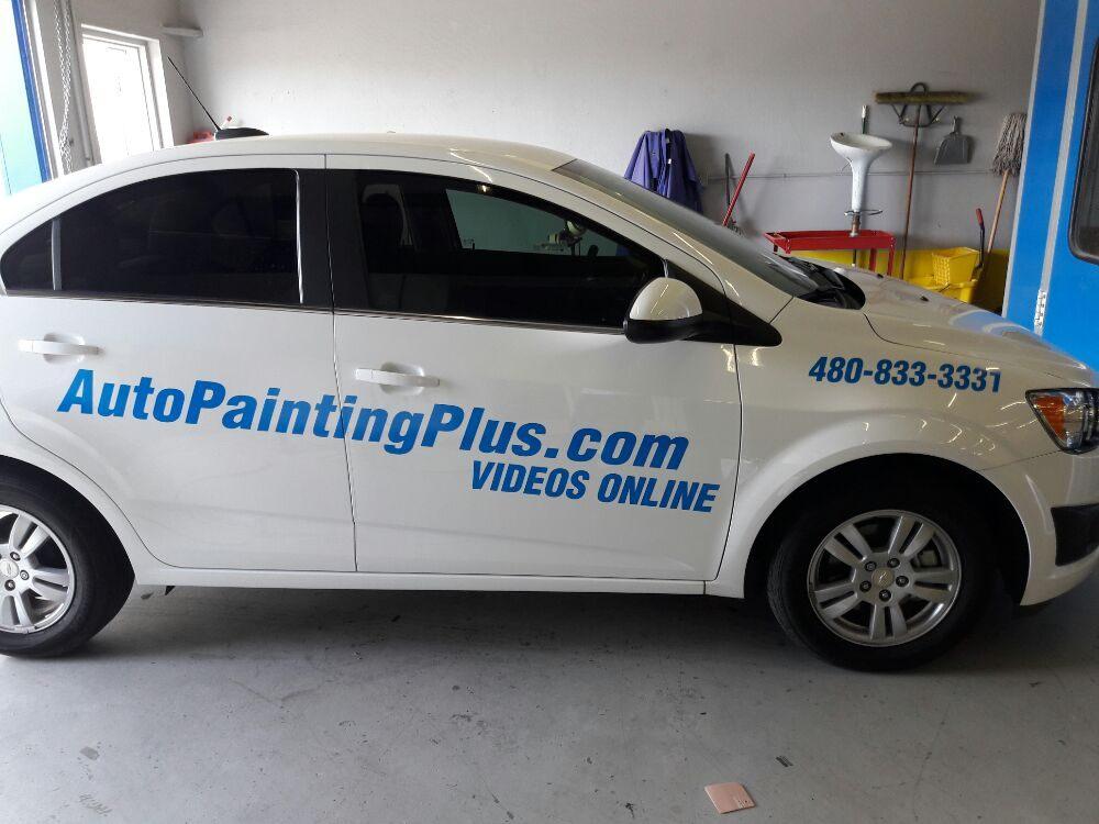 Auto painting plus 41 fotos reparaci n de abolladuras for Auto painting az