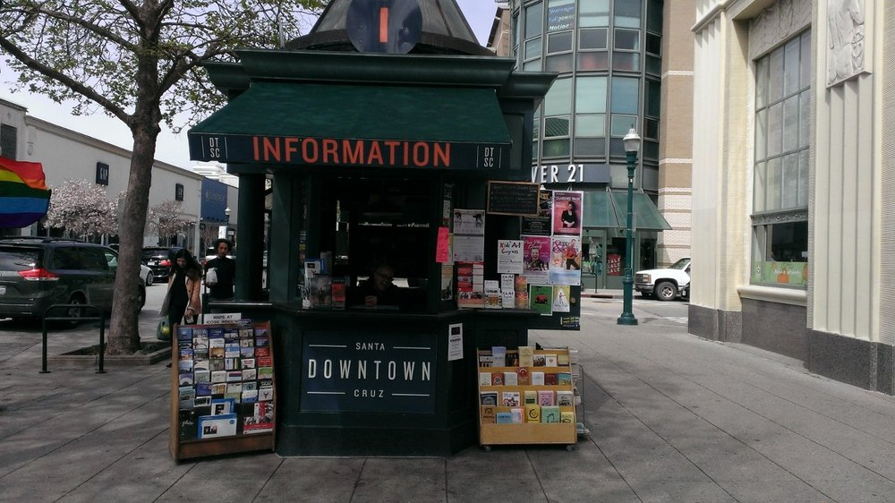 Downtown Santa Cruz Info Kiosk