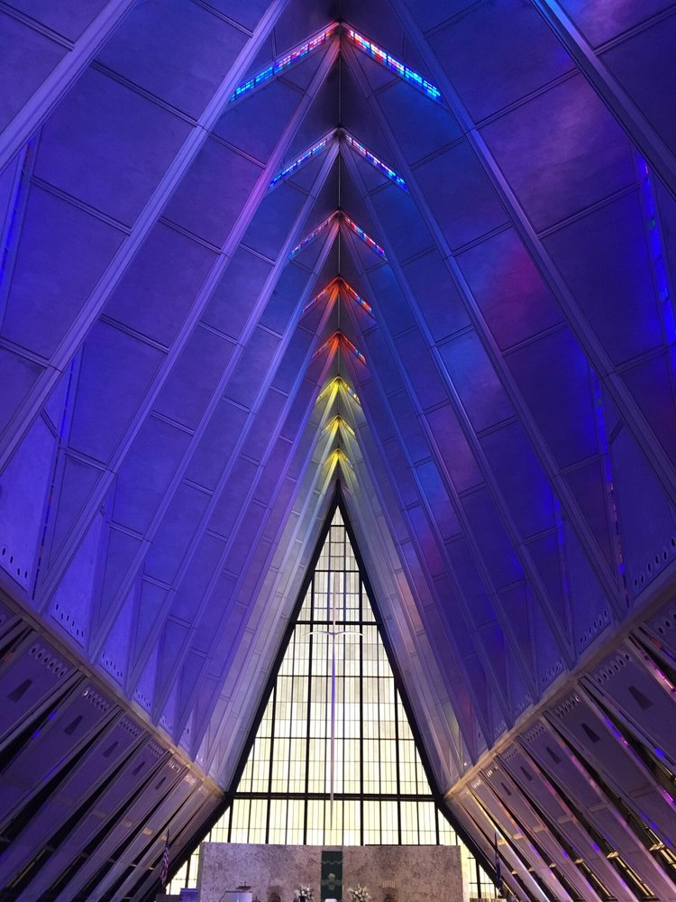 Air Force Academy Visitor Center: 2346 Academy Dr, U.S. Air Force Academy, CO