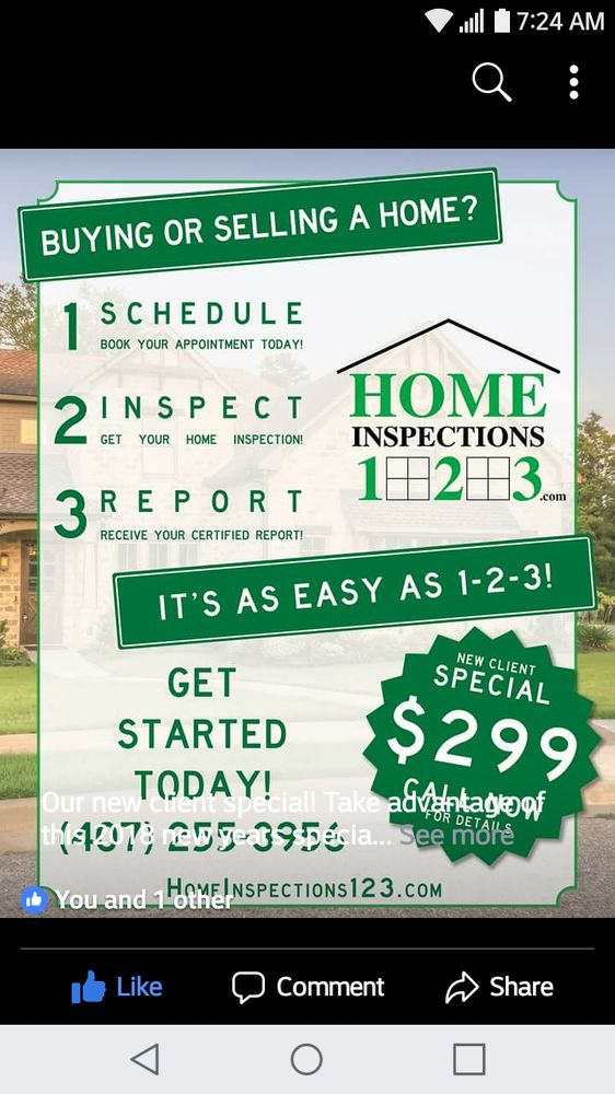 Home Inspections 123: 7208 W Sand Lake Rd, Orlando, FL