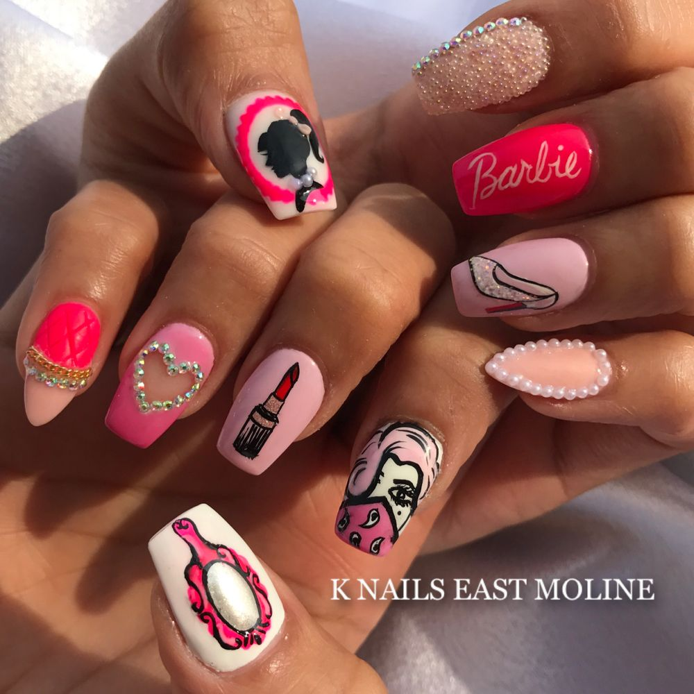 K Nails: 631 Avenue Of The Cities, East Moline, IL