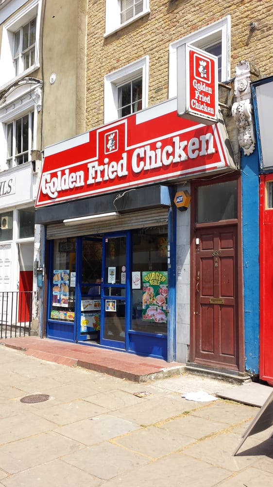 Golden fried chicken takeaway fast food 352 for Azeri cuisine caledonian road