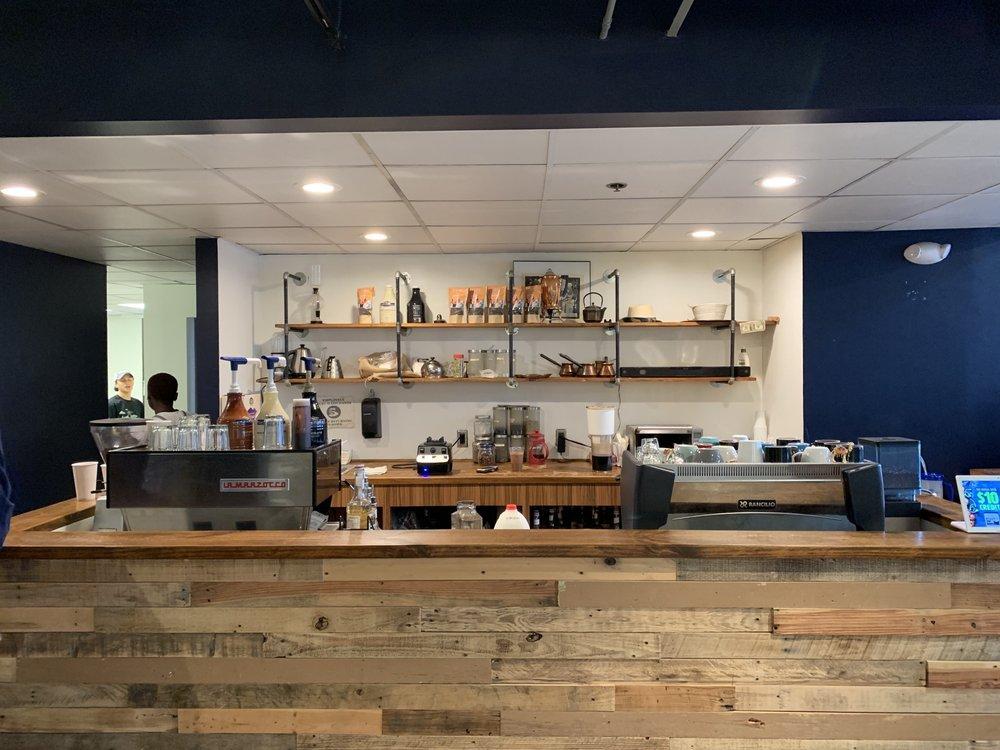 Ébrìk Coffee Room: 22 Park Pl, Atlanta, GA
