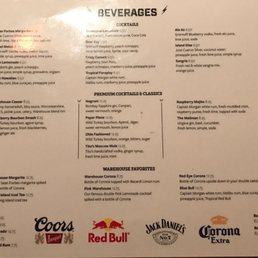 Photo Of El Furniture Warehouse   Whistler, BC, Canada. Drink Menu   Nothing