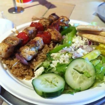Zoes Kitchen Chicken Kabob zoes kitchen - 16 photos & 70 reviews - greek - 6800 snider plz