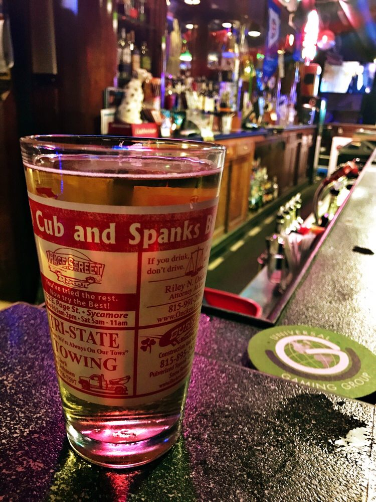 Cub & Spank's: 113 N Maple St, Sycamore, IL