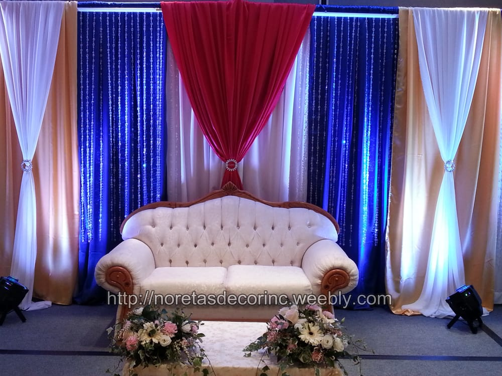 Asian Wedding Stage Decoration Asian Wedding Decoration By Noretas