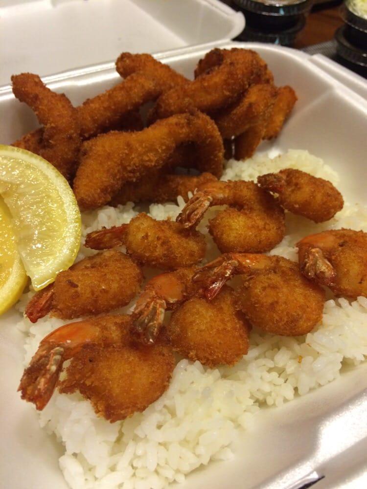 Fried calamari and shrimp yelp for California fish grill gardena ca