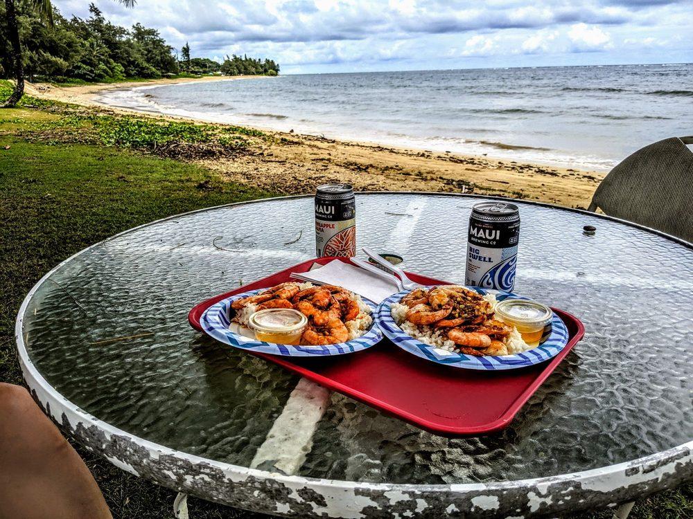 Shrimp Shack: 53-360 Kamehameha Hwy, Hauula, HI