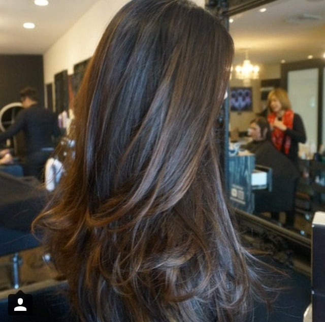 Multi Dimensional Brunette By Jonathan Cut Styled By Abel
