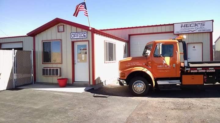 Heck's Collision Center: 2701 Porter Mountain Rd, Lakeside, AZ