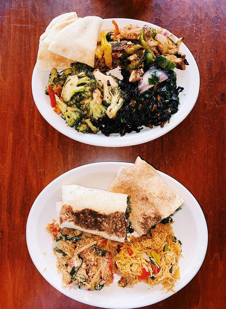 Food from Mediterranean Deli