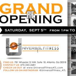 Universal Fitness 11 Photos Trainers 781 Wheeler St Atlanta