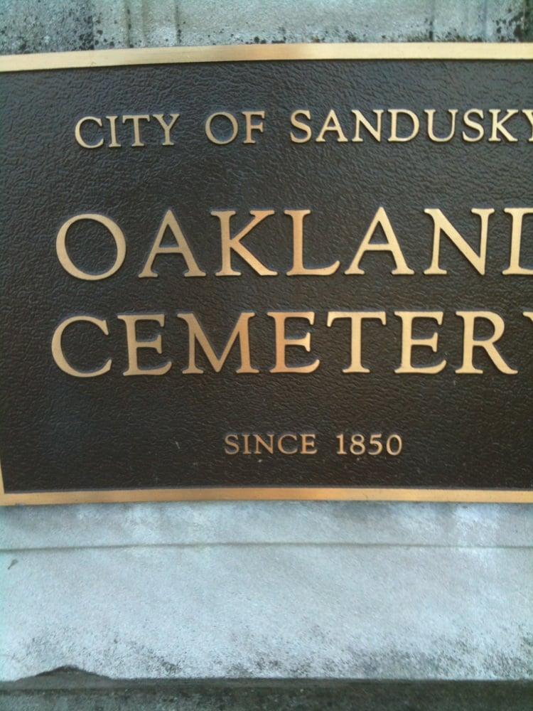 Oakland Cemetery: 2917 Milan Rd, Sandusky, OH