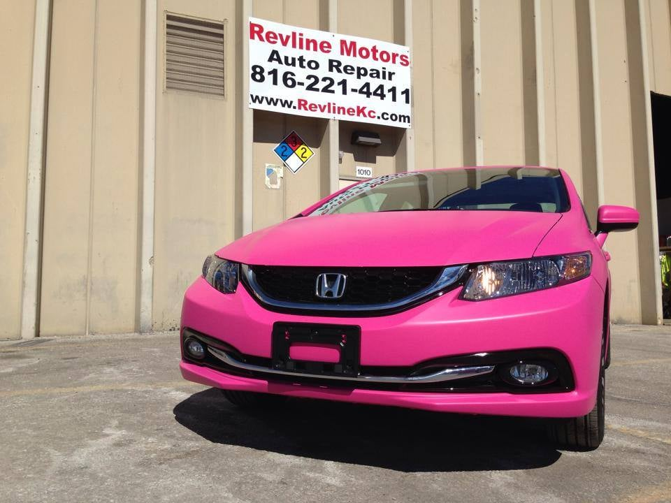 Photo Of Revline Motors   Kansas City, MO, United States. Fierce Pink Honda