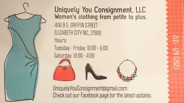 Uniquely You Consignment Abbigliamento Femminile 406 B