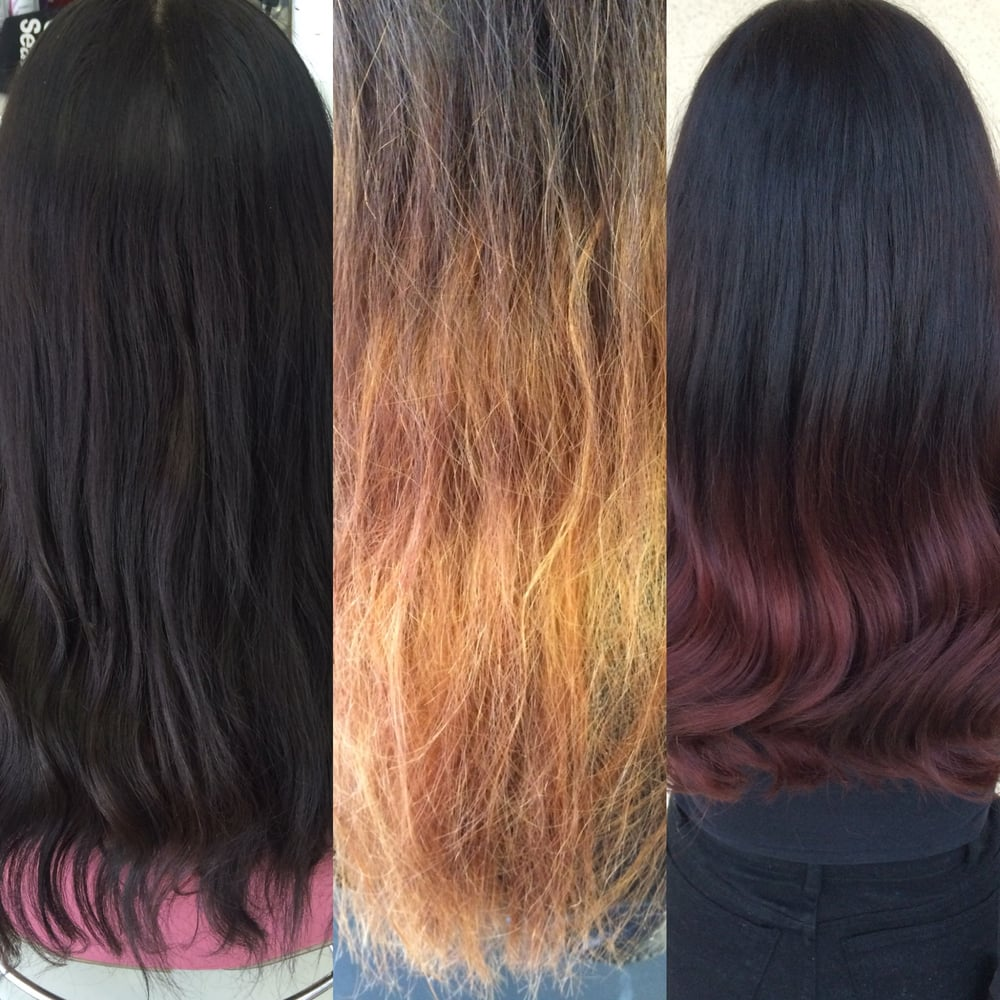 Color Correction Removing Black Box Hair Dye Can Be A Difficult And