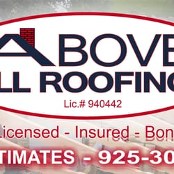 Photo Of Above All Roofing   Antioch, CA, United States