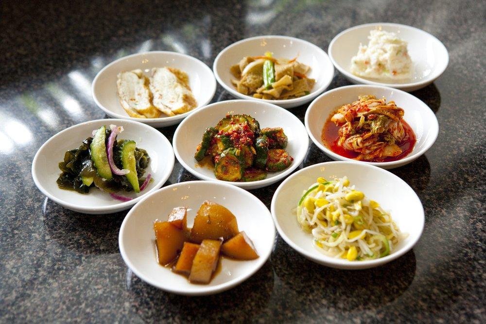 Food from Stone Korean Restaurant