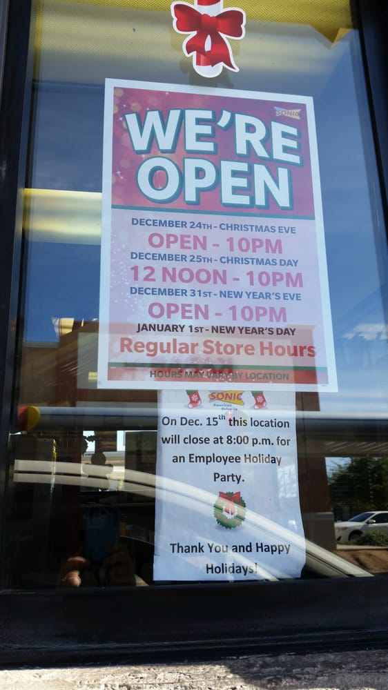 photo of sonic drive in tempe az united states - Sonic Christmas Hours