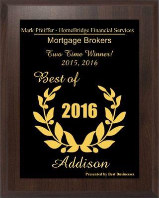 Mark Pfeiffer - HomeBridge Financial Services 15301 Dallas