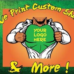 610 print shop screen printing t shirt printing 401 w for T shirt printing in houston tx