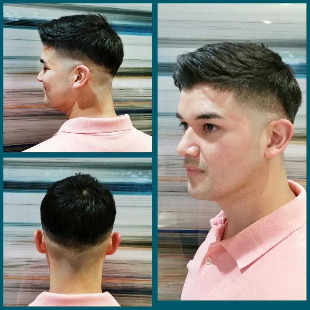 Mens Haircut By Lew Bald Fade Yelp