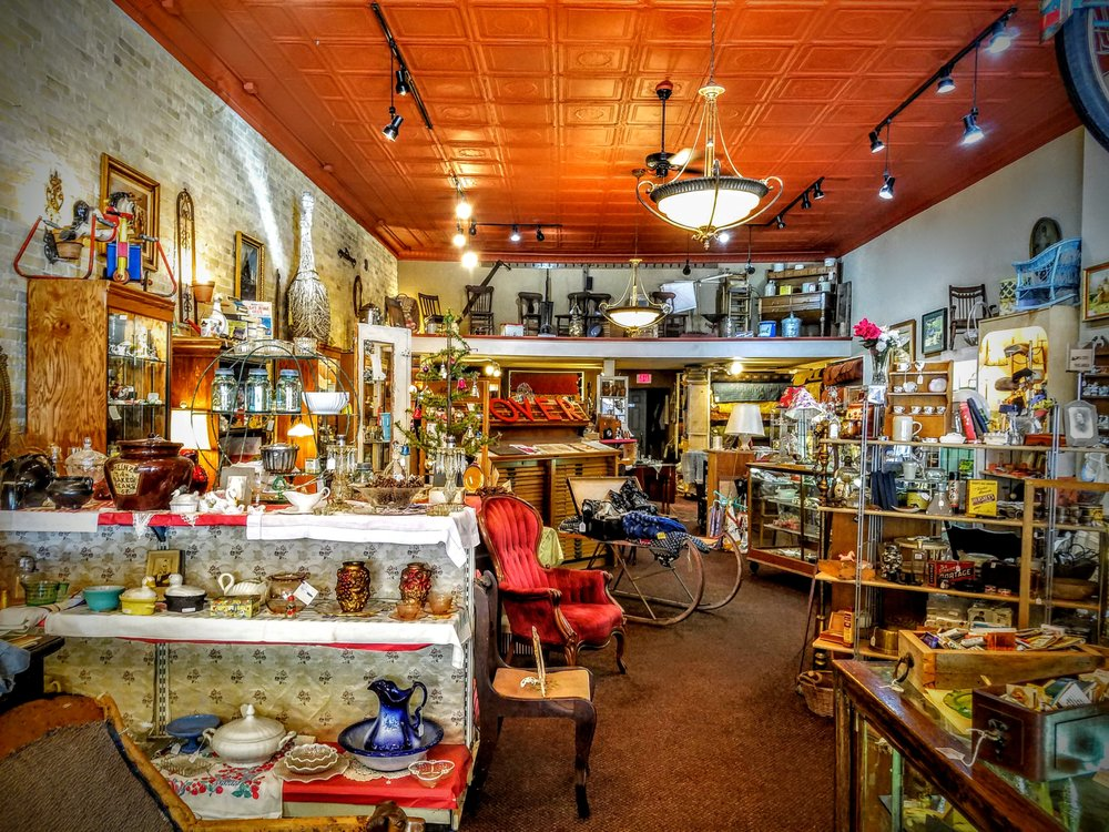 Carousel Antiques: 132 W James St, Columbus, WI
