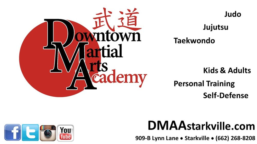 Downtown Martial Arts Academy: 909-B Lynn Ln, Starkville, MS